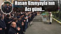 CHP Tuzla eski ilçe Başkanı Hasan Uzunyayla'nın acı günü…
