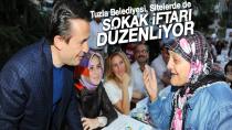 Tuzla Belediyesi, Sitelerde de Sokak İftarı Düzenliyor.