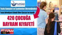 TUZSİAD'tan 420 Çocuğa Bayram Kıyafeti...