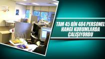 45 bin 484 çalışan görevden uzaklaştırıldı...