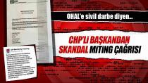 CHP Bakırköy'den Skandal Miting Çağrısı...
