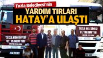 Tuzla Belediyesi'nin Yardım Tırları Hatay'a Ulaştı.