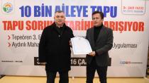 Tuzla'da 10 Bin Aile Daha Tapusuna Kavuştu...