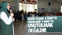 Dr. Fatma Yazıcı ;Kadın Olmak; 8 Mart'ta Hatırlanıp 9 Mart'ta Unutulmak Değildir...