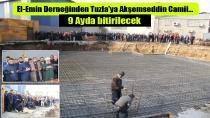 El-emin Derneğinden Tuzla'ya Akşemseddin Camii…