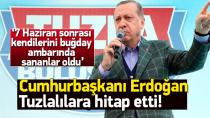 Cumhurbaşkanı Erdoğan, Tuzla'da Binlerle Buluştu...