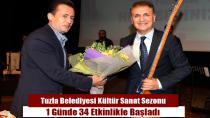 Tuzla Belediyesi Kültür Sanat Sezonu 34 Etkinlikle Başladı