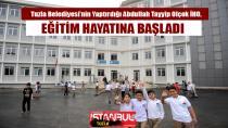 Tuzla Belediyesi'nin Yaptırdığı Abdullah Tayyip Olçok İHO, Eğitim Hayatına Başladı