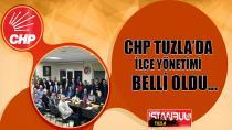 CHP Tuzla'da İlçe Yönetimi Belli Oldu...