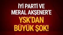 İYİ Parti ve Meral Akşener'e Hazine yardımı yok...