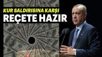 """Erdoğan: """"Kur saldırısına karşı reçete hazır""""…"""