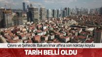 Mehmet Özhaseki'den imar affı açıklaması...