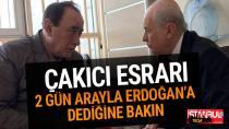 Alaattin Çakıcı esrarı! 2 gün arayla Erdoğan'a bakın ne dedi?