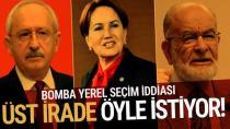 CHP ve İYİ Parti istemese de 'üst irade' ittifak yaptıracak...