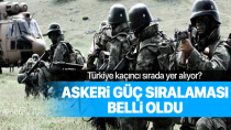 2018 Askeri Güç sıralaması belli oldu! Türkiye kaçıncı sırada yer alıyor?