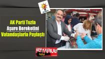 AK Parti Tuzla Aşure Bereketini Vatandaşlarla Paylaştı.