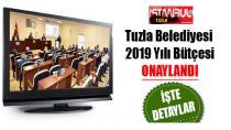 Tuzla Belediyesi, 2019 Yılı Bütçesinde Denge ve İstikrarını Sürdürdü.