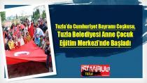 Tuzla'da Cumhuriyet Bayramı Coşkusu, Tuzla Belediyesi Anne Çocuk Eğitim Merkezi'nde Başladı