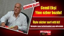 CHP'li Cemil Ekşi yine ezber bozuyor. Öyle sözler sarf etti ki!