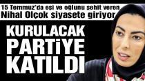 Nihal Olçok Ahmet Davutoğlu'nun partisinde...