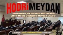 AK Parti'li Tuzla Belediyesi Meclis Üyesi ve Grup Başkan Vekili Tülay Kalav, CHP'lilere Meydan Okudu.