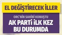 ORC anketi Murat Pösteki hangi ilde kimin önde olduğunu açıkladı…