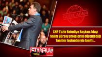 CHP Tuzla Belediye Başkan Adayı Salim Gürsoy Projelerini Tanıttı.