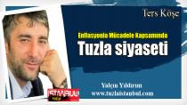 Gazeteci Yalçın Yıldırım:Enflasyonla Mücadele Kapsamında Tuzla Siyasetini yazdı...