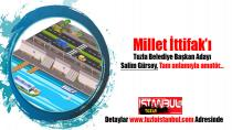 Millet İttifak'ı Tuzla Belediye Başkan Adayı Salim Gürsoy, Tam anlamıyla amatör…