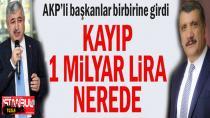 AK Parti'li Başkanlar birbirine girdi...
