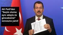 AK Parti'den İstanbul Açıklaması! Adayınız Değişecek mi? Sorusuna Cevap...
