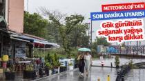 Marmara'da sağanak ve gök gürültülü sağanak yağış uyarısı!