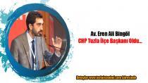 Genç Avukat Eren Ali Bingöl CHP Tuzla İlçe Başkanı oldu.