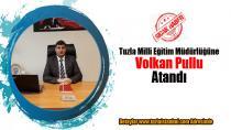 Tuzla Milli Eğitim Müdürlüğüne Volkan Pullu Atandı...