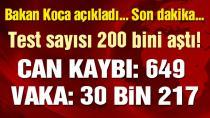 Bakan Koca Türkiye'deki corona vaka sayısını açıkladı! (06.04.2020)