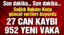 Bakan Koca: Türkiye'deki coronadan kaynaklı güncel vefat ve vaka sayısı açıkladı. (22 Mayıs 2020)