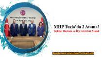 MHP Tuzla'da 2 Atama. Teşkilat Başkanı ve İlçe Sekreteri atandı!
