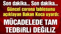 Bakan Koca Türkiye'deki güncel corona verilerini açıkladı. (28 Haziran 2020)