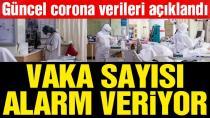 Güncel corona virüsü verileri açıklandı! İşte 8 Nisan tablosu