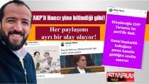 AKP'li Hancı yine bilindiği gibi! Her paylaşımı ayrı bir olay oluyor...
