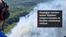 Kazdağları'nda orman yangını! Edremit'teki yangına havadan ve karadan müdahale sürüyor